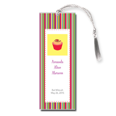 Candyland Bat Mitzvah Bookmark