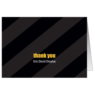 Casino Slot Machine Bar Mitzvah Thank You Card
