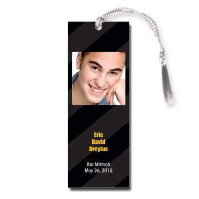 Casino Slot Machine Bar Mitzvah Bookmark