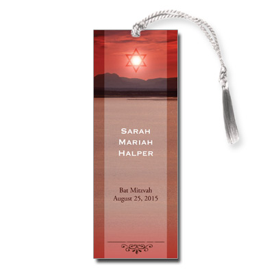 Red Sea Bar Mitzvah Bookmark