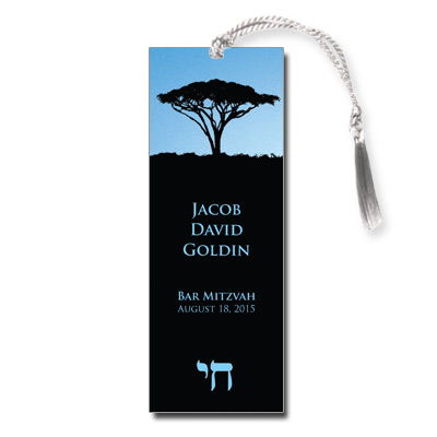 Life Bar Mitzvah Bookmark
